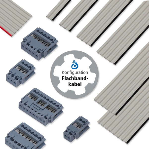 Kabelkonfiguration Flachbandkabel